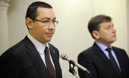 Ponta pleacă luni în SUA, însoţit de Corlăţean şi Dobriţoiu. Antonescu nu mai merge