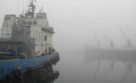Porturile de la Marea Neagră, deschise. Se operează în condiţii de iarnă