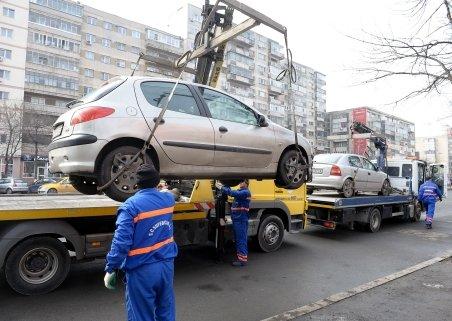 Autorităţile fac apel la şoferii bucureşteni să nu mai parcheze pe marile bulevarde