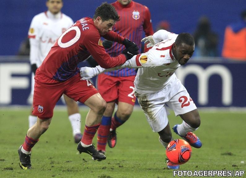 Şanse mici de calificare pentru Steaua: Twente a câştigat cu 1-0 la Bucureşti