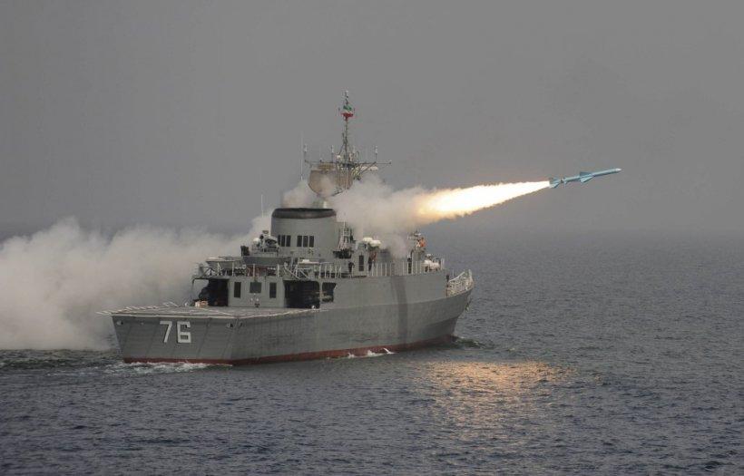Mai multe nave de război iraniene au intrat în Marea Mediterană
