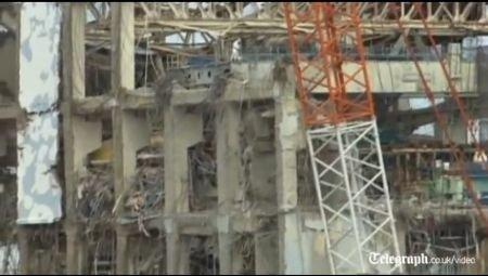 Vezi cum arată centrala de la Fukushima la un an după dezastru