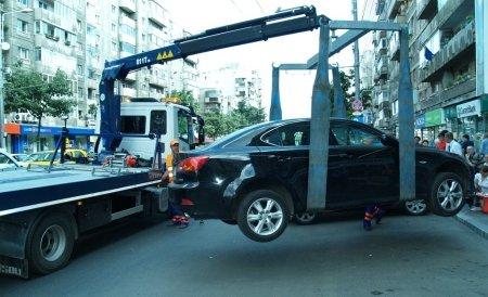 Parcarea neregulamentară a maşinii costă dublu.  Mai ales în sectorul sectorul 6 al Capitalei