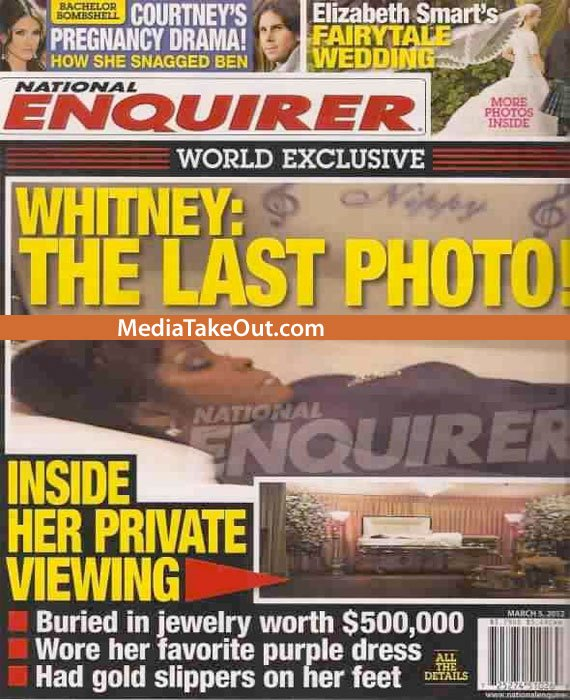 """Whitney Houston, fotografiată MOARTĂ în sicriu. """"Jurnaliştii"""" au descris şi ce purta în picioare"""
