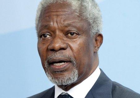Kofi Annan, numit emisar special al ONU şi Ligii Arabe pentru criza din Siria