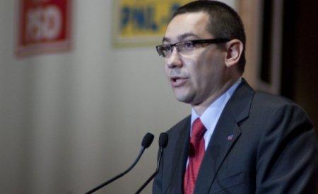 Ponta: Nu cred că USL trebuie să vină în Parlament la mesajul lui Băsescu. Vom lua o decizie luni