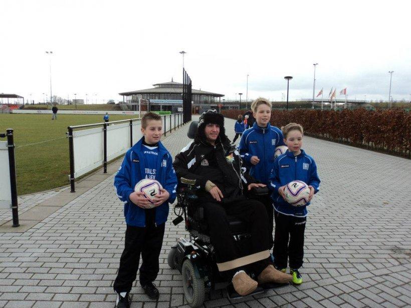 Mihai Neşu a inaugurat Şcoala de Fotbal de la Utrecht. Vezi imagini de la eveniment