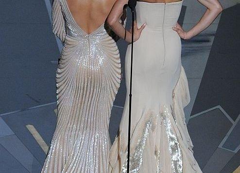 Vedeta care a şocat cu trupul ei ANORECTIC la Oscaruri. Vezi ce rochii au îmbrăcat divele. GALERIE FOTO