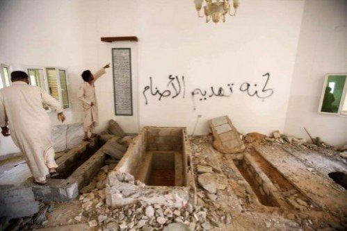 200 de morminte ale americanilor, devastate de rebelii din Libia în semn de protest faţă de arderea Coranului