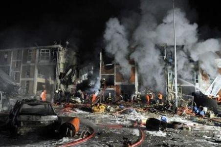 Bombă la Ankara, chiar în faţa biroului premierului turc Recep Erdogan. Atentatul nu a fost revendicat