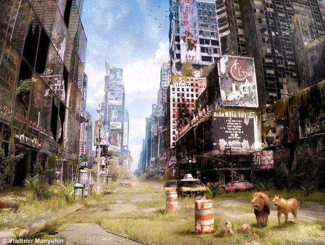 Apocalipsa A VENIT! Rusul Vladimir Manyuhin îţi prezintă sfârşitul lumii, în imagini