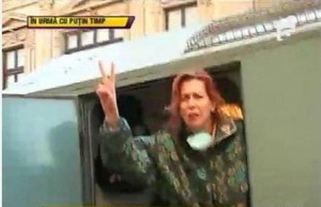 Vezi ce spune Brianna Caradja despre faptul că a fost săltată de jandarmi