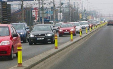 Trafic restricţionat pe DN1, pe raza localităţii Comarnic