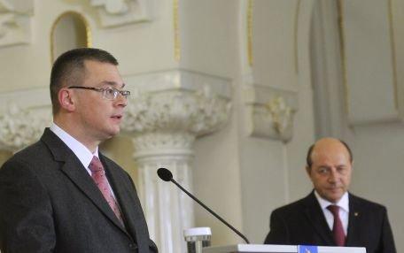Băsescu: Nu exclud o eventuală candidatură a lui Ungureanu la alegerile prezidenţiale