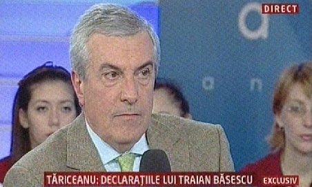 Călin Popescu Tăriceanu: Băsescu încearcă evitarea unui dezastru electoral pentru PDL. Majorarea salariilor e o păcăleală