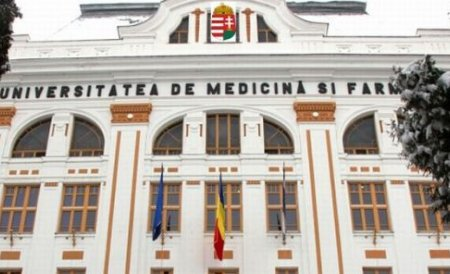 Guvernul a lansat în dezbatere publică proiectul privind înfiinţarea unei linii de limba maghiară la UMF Târgu Mureş