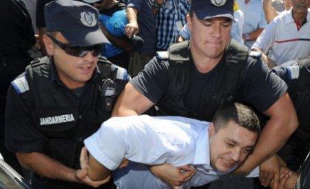 ''Haiducul'' constănţean, care a scandat împotriva lui Băsescu, reţinut pentru evaziune fiscală