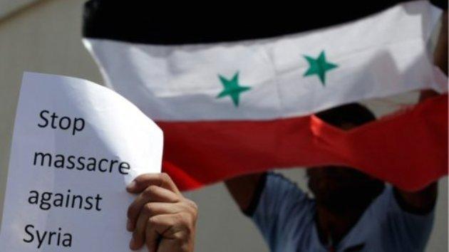 """SUA: Mii de sirieni s-au adunat în faţa Casei Albe pentru a cere oprirea """"masacrului din Siria"""""""