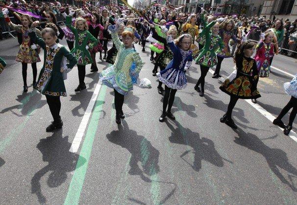 De Sfântul Patrick, SUA au adoptat culoarea verde