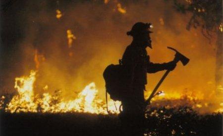 Pompierii de la ISU Argeş au intervenit la mai bine de 50 de incendii în ultimele două zile