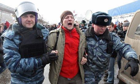 Rusia. 30 de opozanţi ai preşedintelui Vladimir Putin, arestaţi