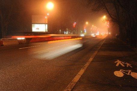 Trafic îngreunat de ceaţă pe drumurile din judeţul Constanţa