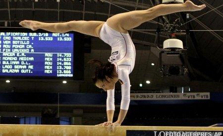 Cătălina Ponor, medalie de aur în finala de la bârnă, la Cupa Mondială de la Doha
