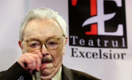 A murit actorul Ion Lucian. Maestrul ar fi împlinit 88 de ani luna viitoare