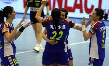 Oltchim a câștigat prima manșă în semifinalele Ligii Campionilor la handbal feminin