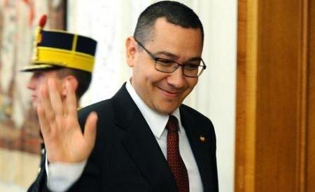 """Victor Ponta: """"Sunt gata să-mi asum chiar de mâine răspunderea conducerii ţării"""""""