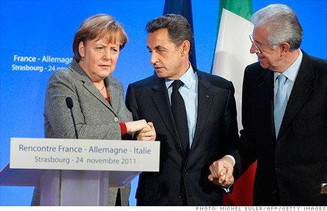 Italia, noul partener privilegiat al Germaniei. Vor aproba simultan pactul fiscal şi Mecanismul European de Stabilitate