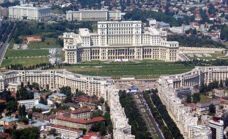 Palatul Parlamentului nu i-a atras pe spanioli. Mai puţin de 300 de suporteri l-au vizitat