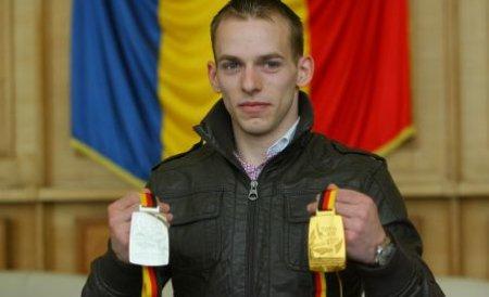 Gimnastul român Flavius Koczi, campion european la sărituri