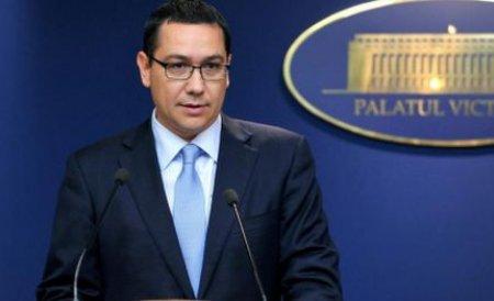 Ponta: Am luat deja măsuri în Vrancea împotriva viiturilor, nu doar acolo sunt probleme