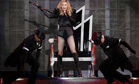 Madonna şi-a început al nouălea turnel mondial din carieră