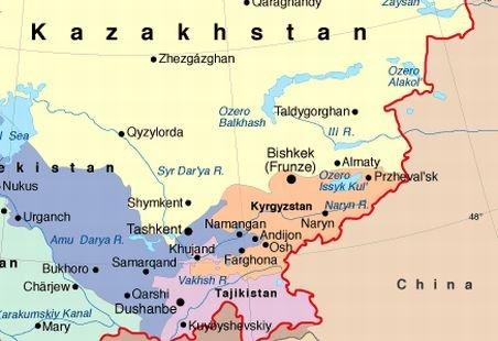 Treisprezece cadavre carbonizate, descoperite la un post de frontieră dintre Kazahstan şi China