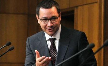 Ponta: PDL va lua sub 10% la locale, scorul politic al USL va fi peste 50%