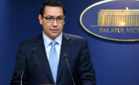 Ponta, mulţumit de M.A.I. la alegeri. Ministerul va fi răsplătit cu bani din fondul de rezervă pentru echipamente