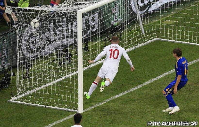 EURO 2012: Rooney revine după suspendare şi califică Anglia în sferturile de finală