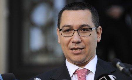Ponta: Voi demisiona dacă se va confirma că am plagiat teza de doctorat
