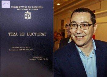 CNATDCU cere retragerea titlului de doctor al lui Ponta. Pop: Deciziile Consiliului SUNT NULE