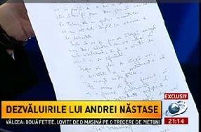 """Scrisoarea-testament, lăsată de Adrian Năstase fiului său: """"Prefer să plec de lângă voi cu demnitate şi cu sentimentul că nu accept nedreptăţile"""""""