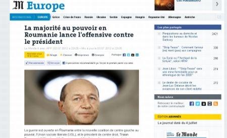 """""""În România a început războiul"""". Presa internaţională comentează evenimentele politice din ţara noastră"""