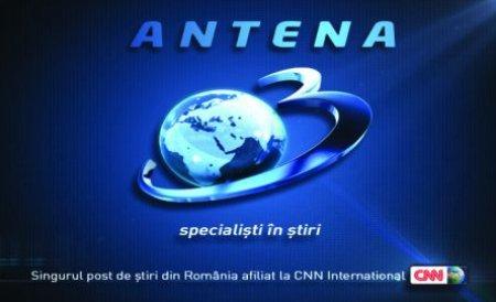 Antena 3 a depăşit pentru a doua zi consecutiv toate posturile TV din România