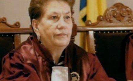 Judecătoarea Cojocaru, de la CC, a reclamat la Parchet că a fost ameninţată înaintea dezbaterilor Curţii