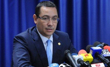 Ponta se va supune electoratului în cazul unui eşec la referendum
