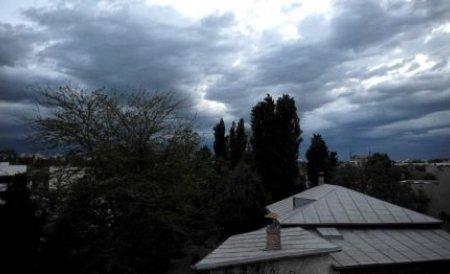 Avertizare de fenomene meteorologice periculoase imediate pentru Bucureşti şi Ilfov