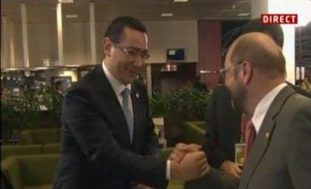 Schulz: Monitorizăm evenimentele din România. CE ar trebui să acţioneze dacă vor fi încălcări ale regulilor europene