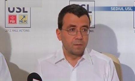 Voicu: Antonescu decide dacă promulgă Legea referendumului sau o retrimite la Parlament