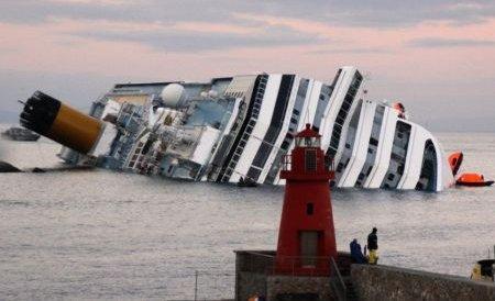 Stânca de pe insula Giglio, care a provocat naufragiul navei Costa Concordia, va fi dislocată